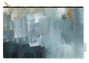 Days Like This - Abstract Painting Carry-all Pouch by Linda Woods
