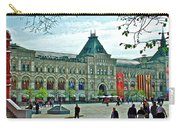 Daytime View Of Gum-former State Department Store-in Red Square In Moscow-russia Carry-all Pouch