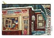 De Bullion Street Depanneur Kik Cola Montreal Streetscenes Carry-all Pouch