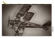 De Havilland Dh-82a Tiger Moth V5 Carry-all Pouch