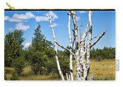 Dead Birch Trees Carry-all Pouch