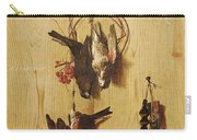 Dead Birds Oil On Canvas Carry-all Pouch