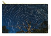Dead Oak With Star Trails Carry-all Pouch