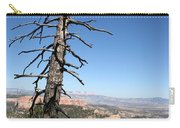 Dead Tree At Bryce Canyon  Overlook Carry-all Pouch