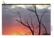 Dead Tree At Sunset Carry-all Pouch