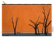 Dead Trees By Red Sand Dunes, Dead Carry-all Pouch