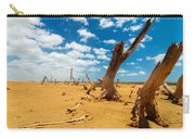Dead Trees In A Desert Wasteland Carry-all Pouch