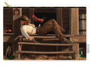 Deaf To The Rooster's Call Carry-all Pouch by Daniel Eskridge