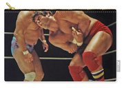 Dean Ho Vs Don Muraco In Old School Wrestling From The Cow Palace Carry-all Pouch