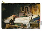 Death Of Cleopatra Carry-all Pouch