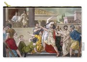 Death Of Virginia, Illustration Carry-all Pouch