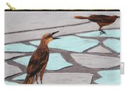 Death Valley Birds Carry-all Pouch by Anastasiya Malakhova