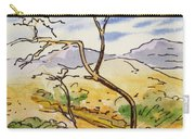 Death Valley- California Sketchbook Project Carry-all Pouch