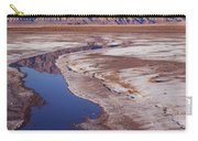 Death Valley Salt Stream 1-h Carry-all Pouch