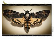 Deaths Head Hawk Moth Framed Version Carry-all Pouch