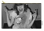Debbie C. Celebrating July 4th Lincoln Gardens Tucson Arizona 1990 Carry-all Pouch