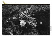 Debbie C's Grave American Flag Evergreen Cemetery Tucson Arizona 1991 Carry-all Pouch