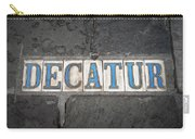 Decatur Carry-all Pouch