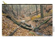 Deciduous Forest With Ravines Carry-all Pouch