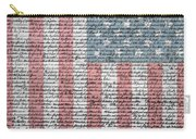 Declaration Of Independence Carry-all Pouch by Dan Sproul