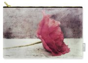 Decor Poppy Horizontal Carry-all Pouch by Priska Wettstein