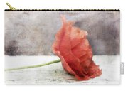 Decor Poppy Red Carry-all Pouch by Priska Wettstein