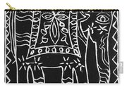 Decorated Elephant Carry-all Pouch