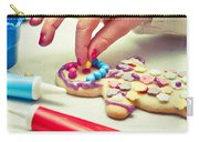 Decorating Gingerbread Man Carry-all Pouch
