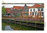 Decorations For Orange Day To Celebrate The Queen's Birthday In Enkhuizen-netherlands Carry-all Pouch