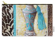 Decorative Bathroom Bath Art Original Perfume Bottle Painting Luxe Perfume By Madart Carry-all Pouch