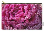 Decorative Fancy Pink Kale Carry-all Pouch