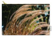 Decorative Grass Wind Autumn And Orton Carry-all Pouch