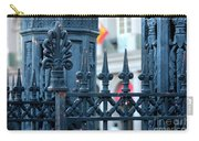 Decorative Iron Fence In New Orleans Carry-all Pouch