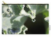 Decorative Kale With Dew Carry-all Pouch