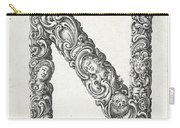 Decorative Letter Type N 1650 Carry-all Pouch