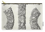 Decorative Letter Type T 1650 Carry-all Pouch