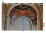 Decorative Light At The New York Public Library Carry-all Pouch