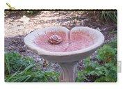 Decorative Lilypad Birdbath Carry-all Pouch