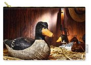 Decoy In Old Hunting Barn Carry-all Pouch