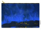 Deep Blue Triptych 2 Of 3 Carry-all Pouch