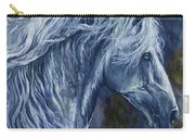 Deep Blue Wild Horse Carry-all Pouch