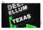 Deep Ellum In Green Carry-all Pouch