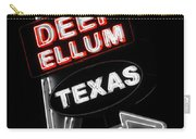 Deep Ellum In Red Carry-all Pouch