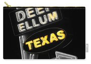 Deep Ellum In Yellow Carry-all Pouch