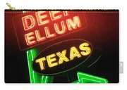 Deep Ellum Red Glow Carry-all Pouch