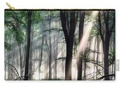 Deep Forest Morning Light Carry-all Pouch