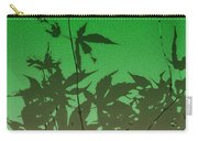 Deep Green Haiku Carry-all Pouch