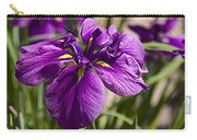 Deep Purpled Iris Carry-all Pouch