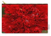 Deep Red Carnation Carry-all Pouch