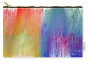 Deep Rich Sherbet Abstract Carry-all Pouch